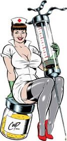 Coop Nurse Sticker Image