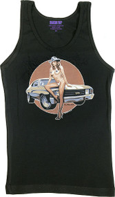 Almera Super Sport Woman's Baby Doll Tee and Boy Beater Tank Image