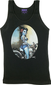 BigToe Rebelle Woman's Baby Doll Tee and Tank Top Image