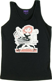 Derek Yaniger C is for Cad Womans Baby Doll Tee and Ribbed Tank Top Image