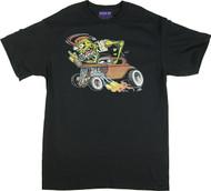Pizz Zombie Rod T-Shirt Image