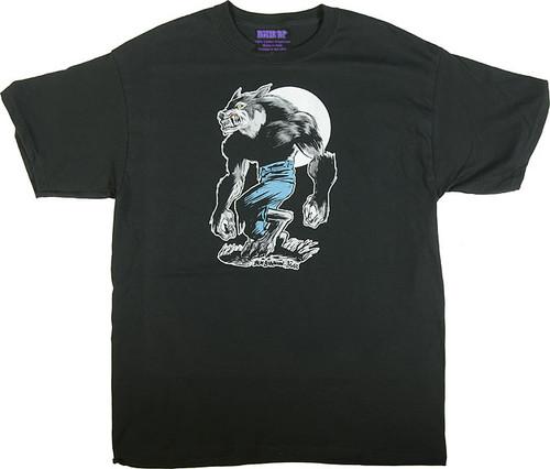 Ben Von Strawn Wolfman T-Shirt Image