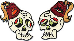 Forbes Devil Skull Patch Image