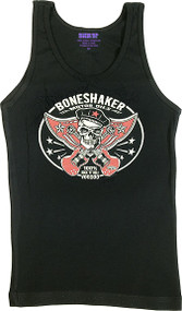 Vince Ray Boneshaker Womans Baby Doll Tee and Boy Beater Tank Image