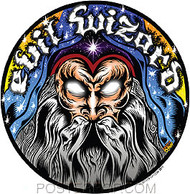 DDS45 Dirty Donny Evil Wizard Sticker
