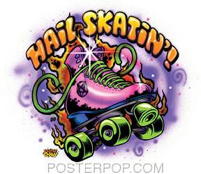 Dirty Donny Hail Skatin Sticker Image