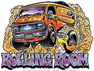 Dirty Donny Rolling Room Sticker Image