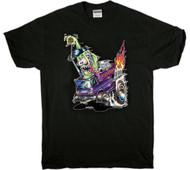 Von Franco Poster Pop Express Van T Shirt Image