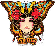 Gustavo Rimada Tattoo Butterfly Sticker Image
