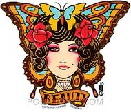 Gustavo Rimada Tattoo Butterfly Sticker Image