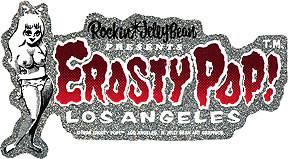 Rockin JellyBean Presents Red Sticker Image