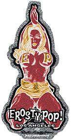 Rockin JellyBean EP Girl Red Sticker Image