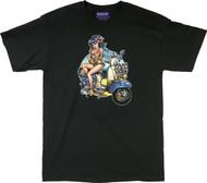BigToe Lambretta Luau T-Shirt Image