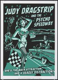 Vince Ray Judy Dragstrip Silkscreen Poster Image