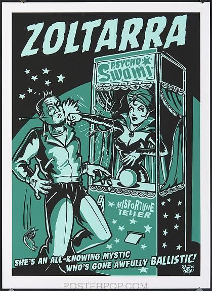 Vince Ray Zoltarra Silkscreen Poster Image