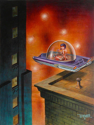 Weesner Drifting Signed Art Print Image