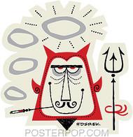 Derek Yaniger Angel Devil Sticker Image