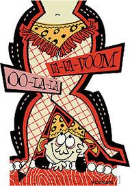 Derek Yaniger Ooh La La Sticker Image