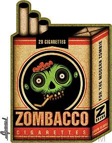 Chico Von Spoon Zombacco Sticker Image