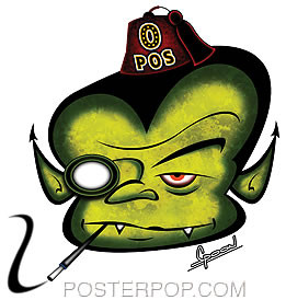 Chico Von Spoon Vamp Sticker Image