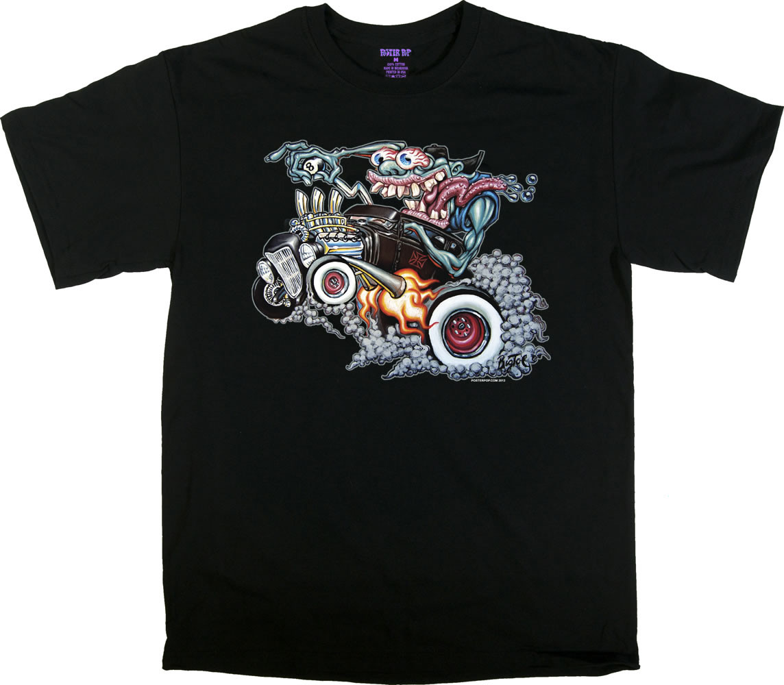 Hot Rod T Shirts >> Bigtoe Monster Hot Rod