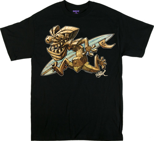 BigToe Tiki Runner T Shirt Image