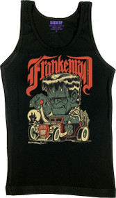 Ben Von Strawn Franken-Rod Womans Boy Beater Ribbed Tank Top Image