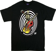Vince Ray Psycho Sonic T-Shirt Image