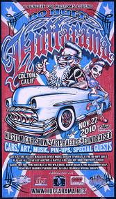 BigToe Bo Huff Huffarama Silkscreen Poster 2010 Image