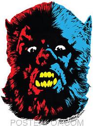 Ben Von Strawn Wolfman London Sticker Image