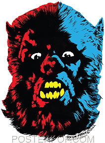 Ben Von Strawn Wolfman London Sticker Image