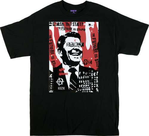 Kozik Reagan Destroy T Shirt Image