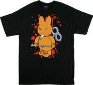 Kozik Ultra Violence Bunny T Shirt Image