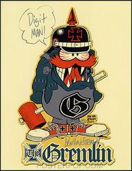 Ben Von StrawnThe Gremlin Hand Signed Artist Print Image