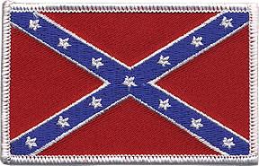 Confederate Flag Patch Image