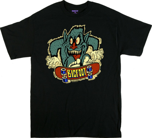 Ben Von Strawn Big Foot Skate T-Shirt Image