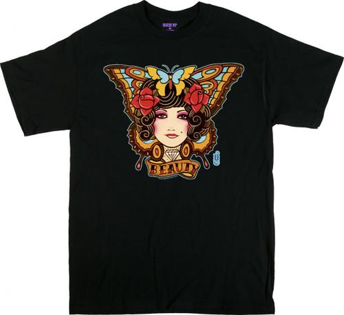 Gustavo Rimada Beauty Butterfly T Shirt Image