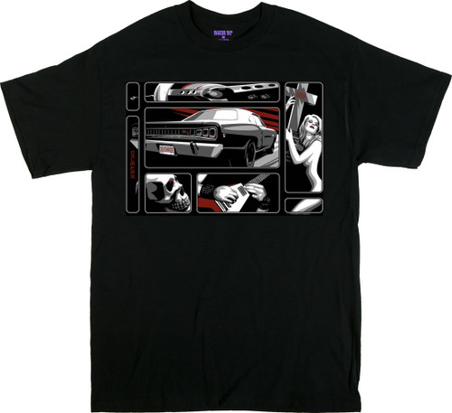 Almera Death Ride T Shirt Image