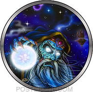 Dirty Donny Wizard Friends Sticker Image