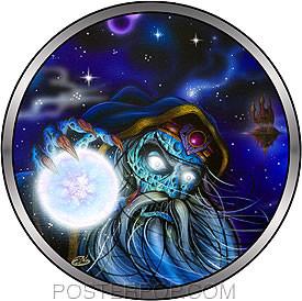 Dirty Donny Wizard Friends Sticker Image