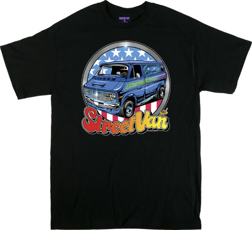 Dirty Donny Street Van T-Shirt Image