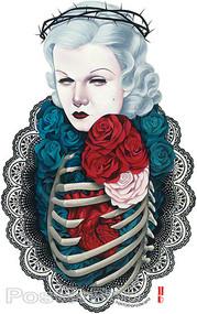 Gustavo Rimada Sorrows Bloom Sticker Image