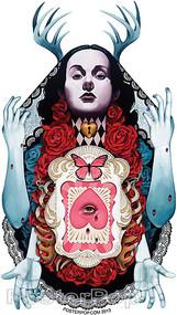 Gustavo Rimada Her Weeping Heart Sticker Image
