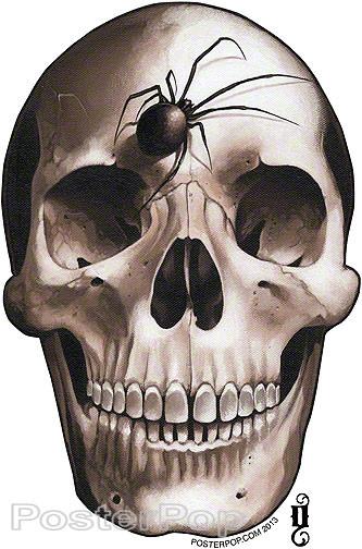 Gustavo Rimada Darkside of the Moon Sticker Skull Sticker
