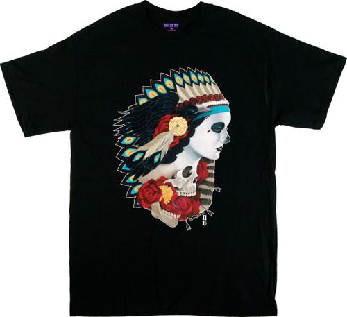 Gustavo Rimada American Spirit Indian T Shirt Image