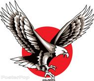 Almera American Eagle Sticker Image