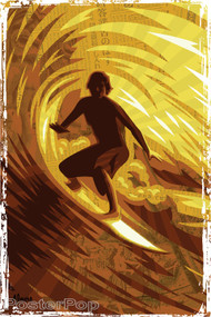 Almera Golden Barrel Sticker Image