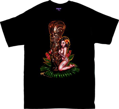 BT54 BigToe Tiki Maiden T Shirt