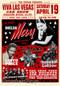 Viva Las Vegas VLV17 Silkscreen Car Show Poster 2014 by Rob Kruse Image