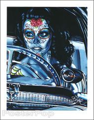 BigToe Muerte Se Pasea Signed Artist Print Image